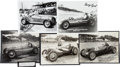 Miscellaneous Collectibles:General, 1930's-40's Indy Drivers Signed Autographs Lot of 5....