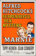 """Movie Posters:Hitchcock, Marnie (Universal, 1964). One Sheet (27"""" X 41"""") & Uncut Pressbook (24 Pages, 12"""" X 18""""). Hitchcock.. ... (Total: 2 Items)"""