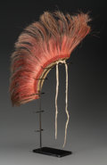 American Indian Art:Pipes, Tools, and Weapons, A Plains Hair Roach...