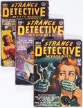 Pulps:Detective, Strange Detective Mysteries Group of 6 (Popular, 1941-43)Condition: Average GD.... (Total: 6 Comic Books)