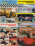 Miscellaneous Collectibles:General, 1981-89 Auto Racing Memories & Memorabilia Magazines Lot of 34....