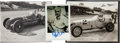 Miscellaneous Collectibles:General, 1930's Indy Drivers Signed Photographs Lot of 2....