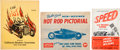 Miscellaneous Collectibles:General, 1946-1951 Speed and Performance Publications Lot of 4....