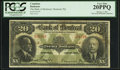 Canadian Currency: , Montreal, PQ- Bank of Montreal $20 Jan. 2, 1923 Ch. # 505-56-06.....
