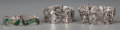American Indian Art:Jewelry and Silverwork, Three Mexican Silver Bracelets... (Total: 3 Items)