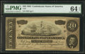 Confederate Notes:1864 Issues, T67 $20 1864 PF-19 Cr. 519.. ...