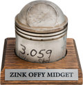 Miscellaneous Collectibles:General, 1940-50's Zink Offenhauser Piston....