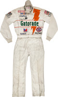 Miscellaneous Collectibles:General, 1984 Rusty Wallace Race Worn NASCAR Driving Suit from RookieYear....