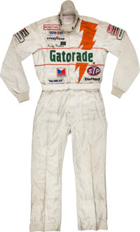 1984 Rusty Wallace Race Worn NASCAR Driving Suit from Rookie Year