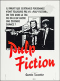 "Movie Posters:Crime, Pulp Fiction (Bac Films, 1994). French Grande (45.5"" X 62"") Second Chance Style. Crime.. ..."