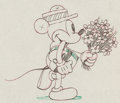 Animation Art:Production Drawing, Puppy Love Mickey Mouse Production Drawing (Disney, 1933)....