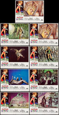 "Movie Posters:Science Fiction, Barbarella (Paramount, 1968). Lobby Card Set of 8 & Lobby Card(11"" X 14""). Science Fiction.. ... (Total: 9 Items)"