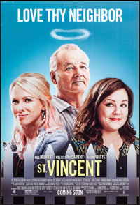 """St. Vincent & Others Lot (Weinstein, 2014). One Sheets (3) (27"""" X 40"""") DS Advance. Comedy. ... (Total: 3 I..."""