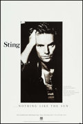 "Movie Posters:Rock and Roll, Sting: Nothing Like the Sun & Others Lot (A&M, 1987). AlbumPosters (2) (24"" X 36"" & 25"" X 38"") & Opera Poster (23"" X35""). ... (Total: 3 Items)"