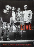 """Movie Posters:Rock and Roll, Van Halen Live: Right Here, Right Now (Warner Brothers, 1996).Album Poster (42"""" X 58""""). Rock and Roll.. ..."""