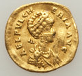 Ancients:Roman Imperial, Ancients: Aelia Pulcheria, Eastern Roman Empress (AD 414-453). AVtremissis (1.36 gm)....