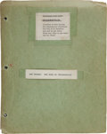 Miscellaneous Collectibles:General, The Road to Indianapolis Manuscript by Art Sparks. ...