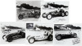 Autographs:Bats, 1940's Indy Drivers Signed Photographs Lot of 5....