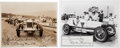 Miscellaneous Collectibles:General, 1920's Indy Drivers Signed Autographs Lot of 2....