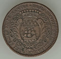 French Colonies, French Colonies: West Indies copper Jeton 1752 Fine,...