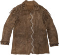 American Indian Art:Beadwork and Quillwork, An Ojibwe Beaded Hide Jacket. c. 1890. ...