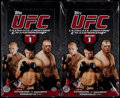 Miscellaneous Collectibles:General, 2009 UFC Round 1 Unopened Hobby Box Pair (2)....