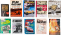 Miscellaneous Collectibles:General, 1952-2002 Books about Racers from all Disciplines of Racing Lot of10....