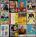 Football Cards:Lots, 1958-82 Football Card Collection (350+)...
