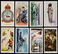 Non-Sport Cards:Singles (Pre-1950), 1932-39 John Player & Sons Collection (137) With One CompleteSet....