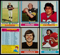 Football Cards:Lots, 1974 Topps Football Collection (313) Plus One 1973 Topps Card....