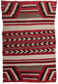 American Indian Art:Weavings, A Navajo Weaving...