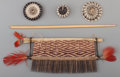 American Indian Art:Baskets, Four Ethnographic Basketry Items... (Total: 4 Items)
