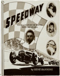 """Miscellaneous Collectibles:General, 1983 """"Speedway - Half a Century of Racing with Art Sparks""""Hardcover Book...."""