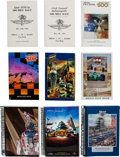 Miscellaneous Collectibles:General, 1958-2010 Indianapolis 500 Media Guides Lot of 50. ...