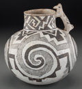 American Indian Art:Pottery, A Tularosa Black-On-White Effigy Pitcher. c. 1000 - 1250 AD...
