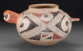 American Indian Art:Pottery, A Casas Grande Polychrome Effigy Vessel. c. 1100 - 1400 AD...