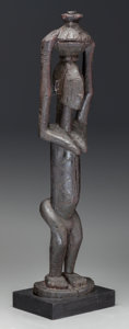 Tribal Art, DOGON, Mali. Standing Female Figure...