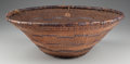 American Indian Art:Baskets, A Pomo Twined Hopper...