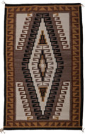 American Indian Art:Weavings, A Navajo Regional Rug. c. 1950...