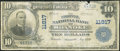 National Bank Notes:Virginia, Roanoke, VA - $10 1902 Plain Back Fr. 633 The Colonial NB Ch. #11817. ...