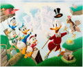 Memorabilia:Disney, Carl Barks Return to Plain Awful Signed Limited Edition Lithograph Print #220/345 (Another Rainbow, 1989). ...
