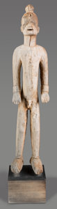 Tribal Art, IBO, Nigeria . Standing Male Figure...
