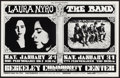 "Movie Posters:Rock and Roll, Laura Nyro and The Band Double Bill at the Berkeley CommunityCenter(Bill Graham, 1970). Concert Poster #215 (14"" X 22""). Ro..."