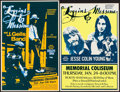 "Movie Posters:Rock and Roll, Loggins and Messina at Memorial Coliseum Lot (Northwest Releasing,1973/1974). Concert Window Cards (2) (14.5"" X 21.75"" & 14...(Total: 2 Items)"