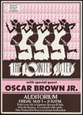 Movie Posters:Rock and Roll, The Pointer Sisters with Oscar Brown Jr. at the First Federal andAuditorium (Northwest Releasing, 1970s). Concert Poster (1...