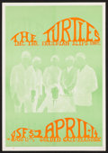 "Movie Posters:Rock and Roll, The Turtles at Golden Gate & Masonic (Unknown, 1960s). ConcertPoster (14"" X 20""). Rock and Roll.. ..."