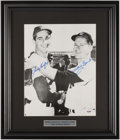 Baseball Collectibles:Photos, Sandy Koufax and Whitey Ford Signed Photograph....