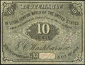 Obsoletes By State:Iowa, Davenport, IA- J.C. Washburn 10¢ Dec. 1, 1862 Oakes 34-2. ...