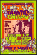 """Movie Posters:Rock and Roll, The Byrds at the Fillmore Auditorium (Bill Graham, 1967). ConcertPoster #82 (14"""" X 21""""). Rock and Roll.. ..."""