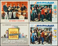 """Movie Posters:Exploitation, High School Confidential & Others Lot (MGM, 1958). Title Lobby Card, Lobby Cards (3) (11"""" X 14""""), & Window Card (14"""" X 22). ... (Total: 5 Items)"""